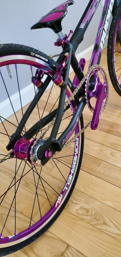 avent BMX bike Purple