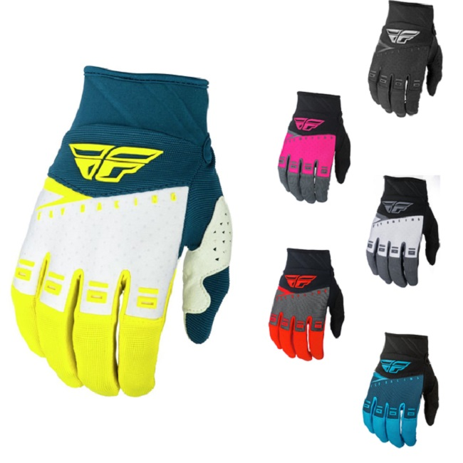 FLY RACING 907 NEOPRENE GLOVES RED//BLACK SZ 8