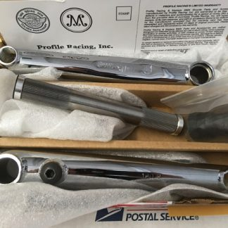 Profile Racing BMX Cranks in Chrome