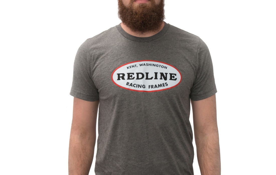 Redline Bmx Shirt Oval Bmx Shirt Logo Shirt T Shirt Adult Sizes