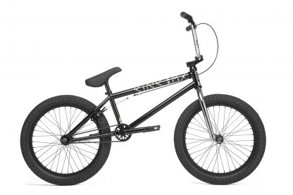 "kink launch black bmx 20"" bike"
