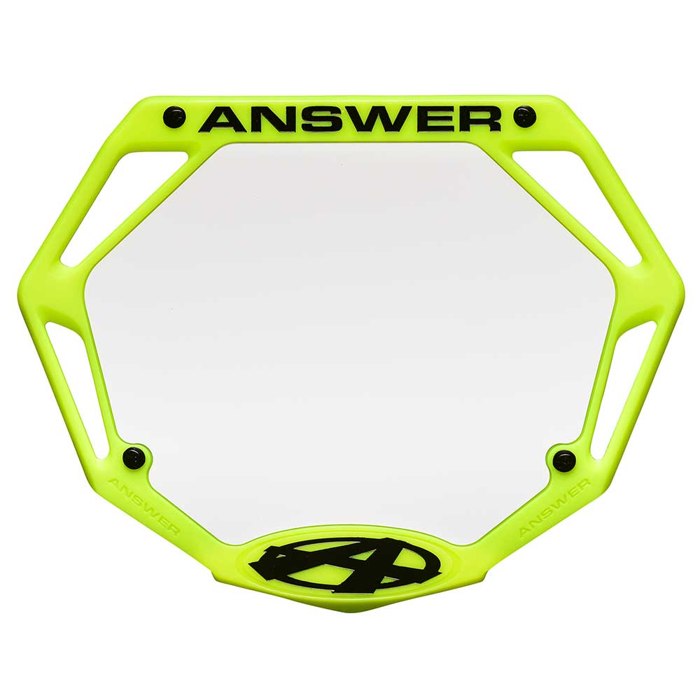 """ANSWER BMX NUMBER 3/"""" Pick Your Number"""