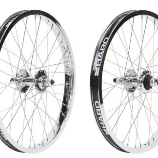 Haro Lineage BMX Wheels 9T Chrome