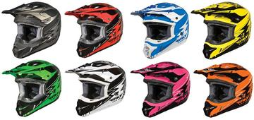 Fly Racing Kinetic Graphic Helmet