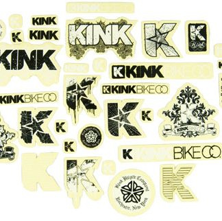 Kink Assorted Stickers