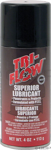 Tri-Flow Superior Lubricant Aerosol, 6oz Chain Lube