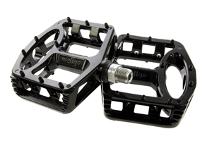 Wellgo MG-1 sealed Black BMX pedals we also have MG-52s