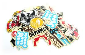 ACEBMX BMX Sticker Pack Assorted Bakers Dozen