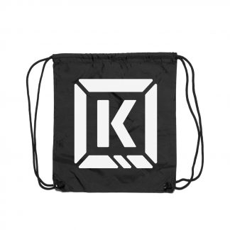 Kink K-Brick Cinch Bag Black