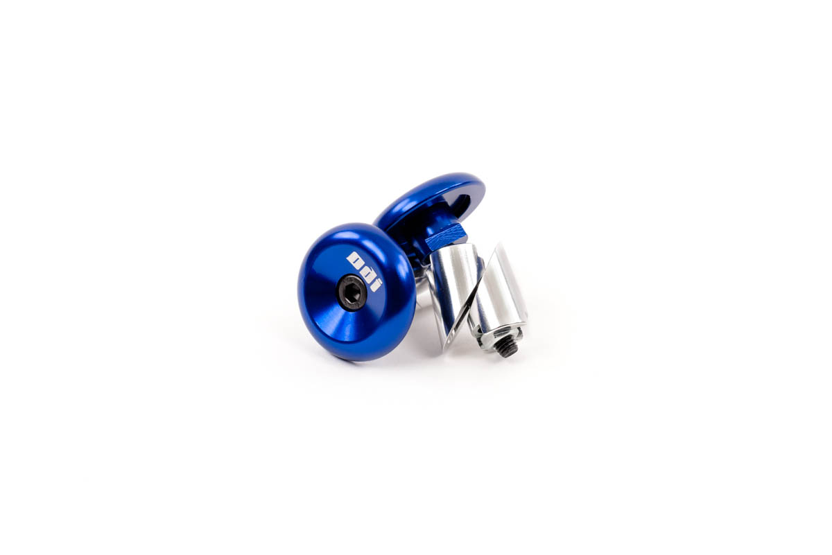 ODI Alloy Bar Ends Blue