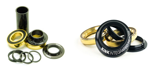 Kink Ti Ceramic Headset and Bottom Bracket Kit