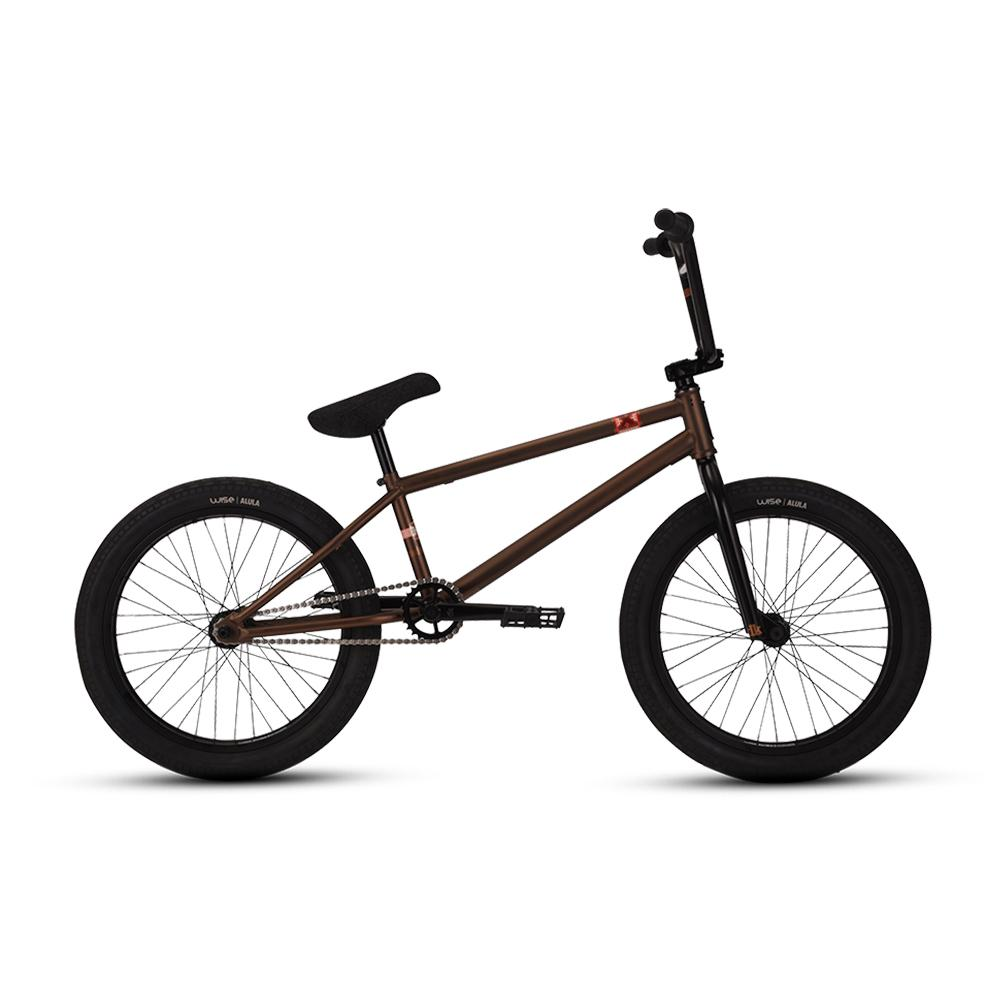 DK Model X Freestyle Bike Coffee Brown