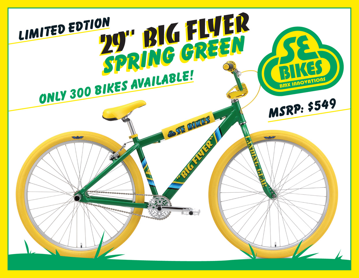 0fd817a8c41 SE Racing Big Flyer 29r Spring Green Sold Out - Americancycle.com ...