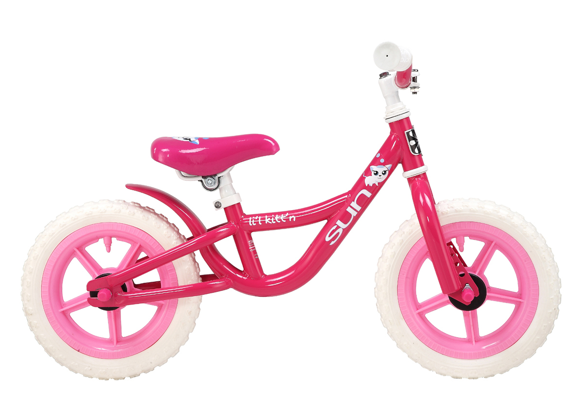 Sun Lil Kitt'n Push Kids No Pedals Bike