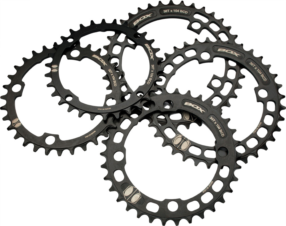 Box Narrow Wide 4 Bolt BMX Chainring