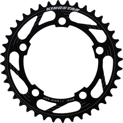 Kingstar 5 Bolt BMX Chainring 110bcd Black
