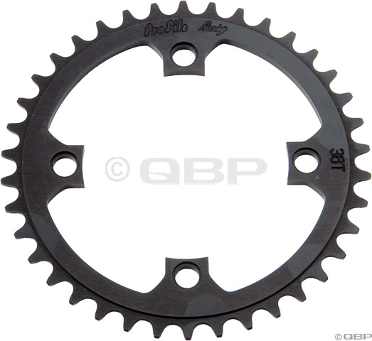 Snap BMX Products Series II 110mm 5 bolt Chainring 44t Black