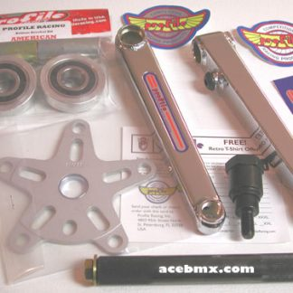 Profile Cranks, Profile 40th Anniversary Retro Race BMX Cranks Bottom Bracket