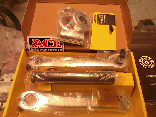 GT American BB Silver 22mm for Power Series Alloy Cranks