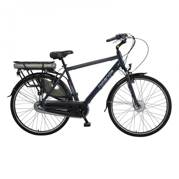 Hollandia Evado Nexus Men's 700C Charcoal Electric Bicycle