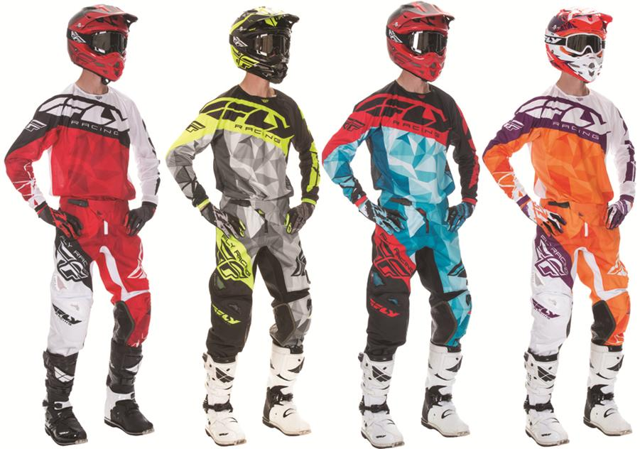 Fly Racing Kinetic Krux Complete Uniform