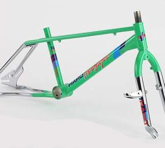 Haro Master 20 Frame 1986 Green Kit