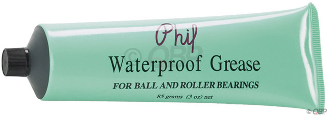 Phil Wood Waterproof Grease Tube 3oz