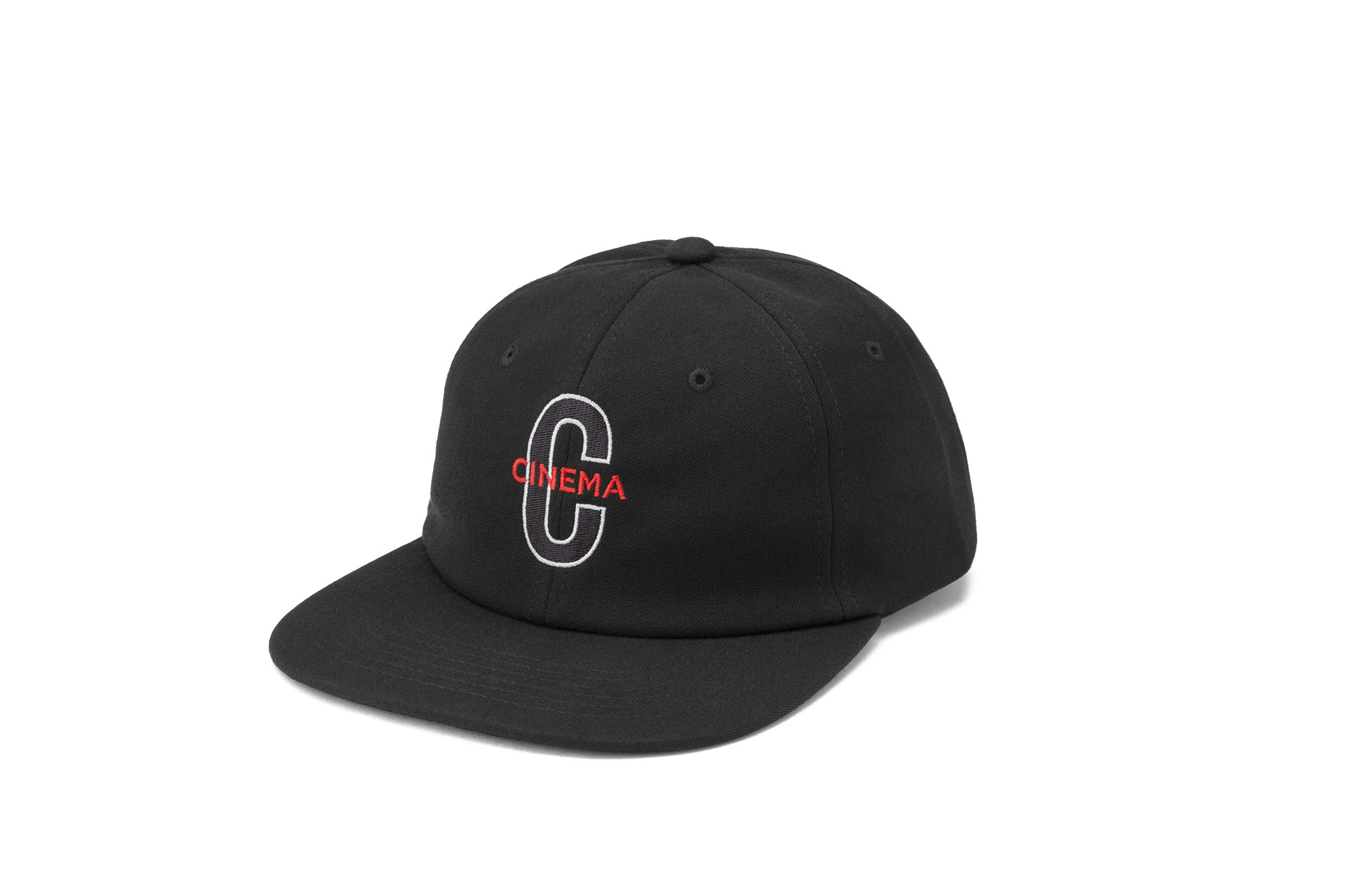 Cinema Capital C Hat Black