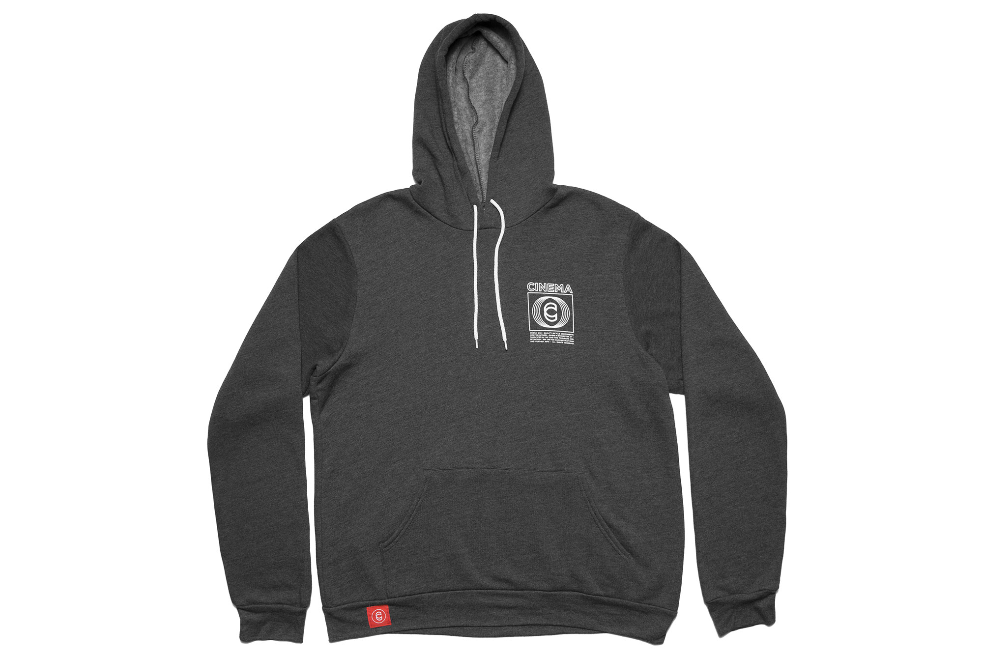 Cinema Broadcast Hoodie Dark Gray Heather
