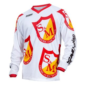 S&M Shield BMX Jersey SE Racing Shield Logo Race Jersey