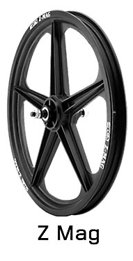 ACS Z Mags 5 spoke pair black
