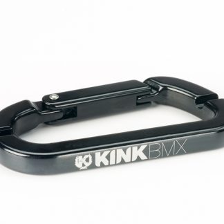 Black Kink Spoke Wrench Carabiner