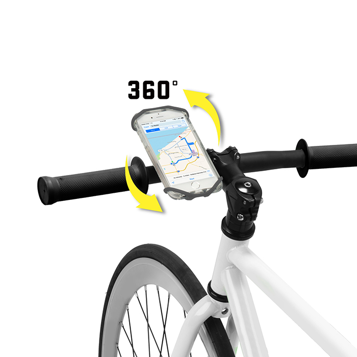 The Wraptor Rotating Smartphone Bar Mount