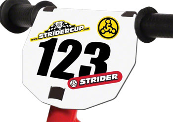 Strider Number Plate for your Strider