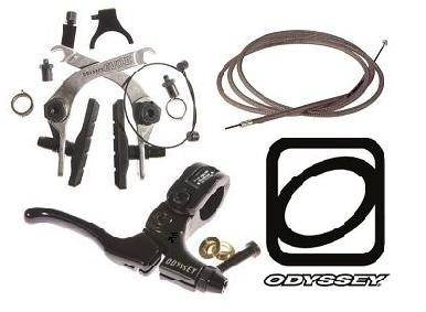 Odyssey Evo or Evo 2.5 Brake Kit Med Lever, Linear Cable, Brake