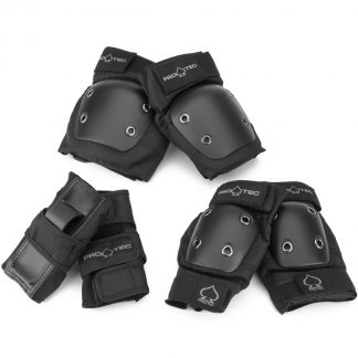 Pro-Tec Street Gear JR 3 Pack Pads Black Youth