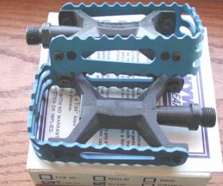 Skyway Tuff BMX Pedals Vintage Old School New in Box