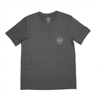Cinema Geo Pocket T Heather Black