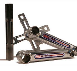 Profile Micro Mini Aluminum Race BMX Mini Crankset