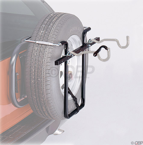 Graber 1060S Spare Tire Bike Rack: 2-Bike