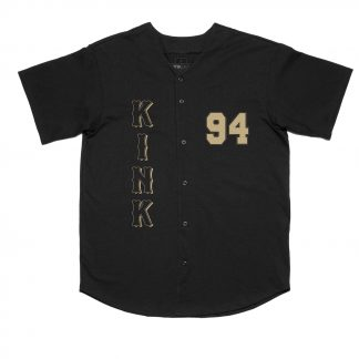 Kink Homer Button Up Jersey Black Medium