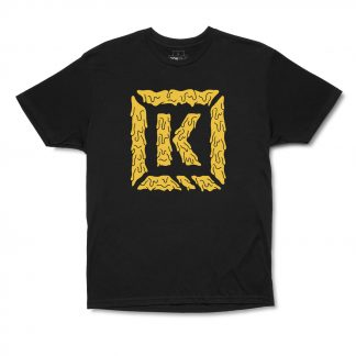 Kink Smelting K-Brick Tee Black Large