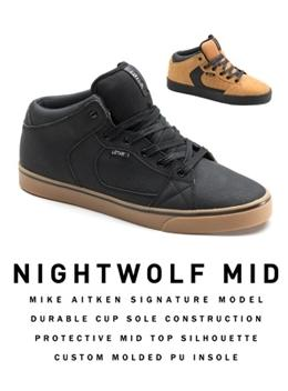 Lotek Mike Aitken Nightwolf Mid Shoes 2014 8 Brown