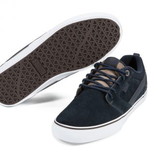 Etnies Rap CT Shoes in Nathan Williams Signature Navy/Brown/Whit