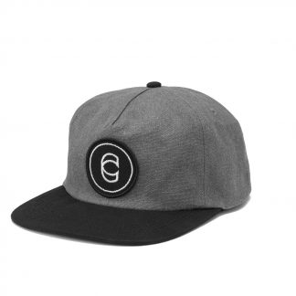Cinema Classic Canvas Snapback Grey/Black