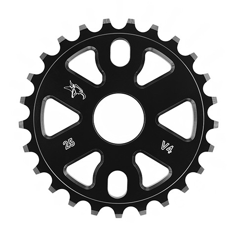 Animal V4 Sprocket 25t Black