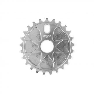 Cinema Rock Sprocket Silver 25t