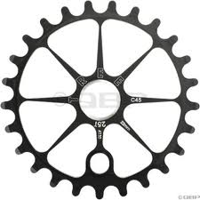 Tree 4130 Chromoly Steel Sprocket 25T Black