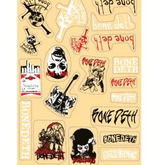 Bone Deth Sticker Sheet