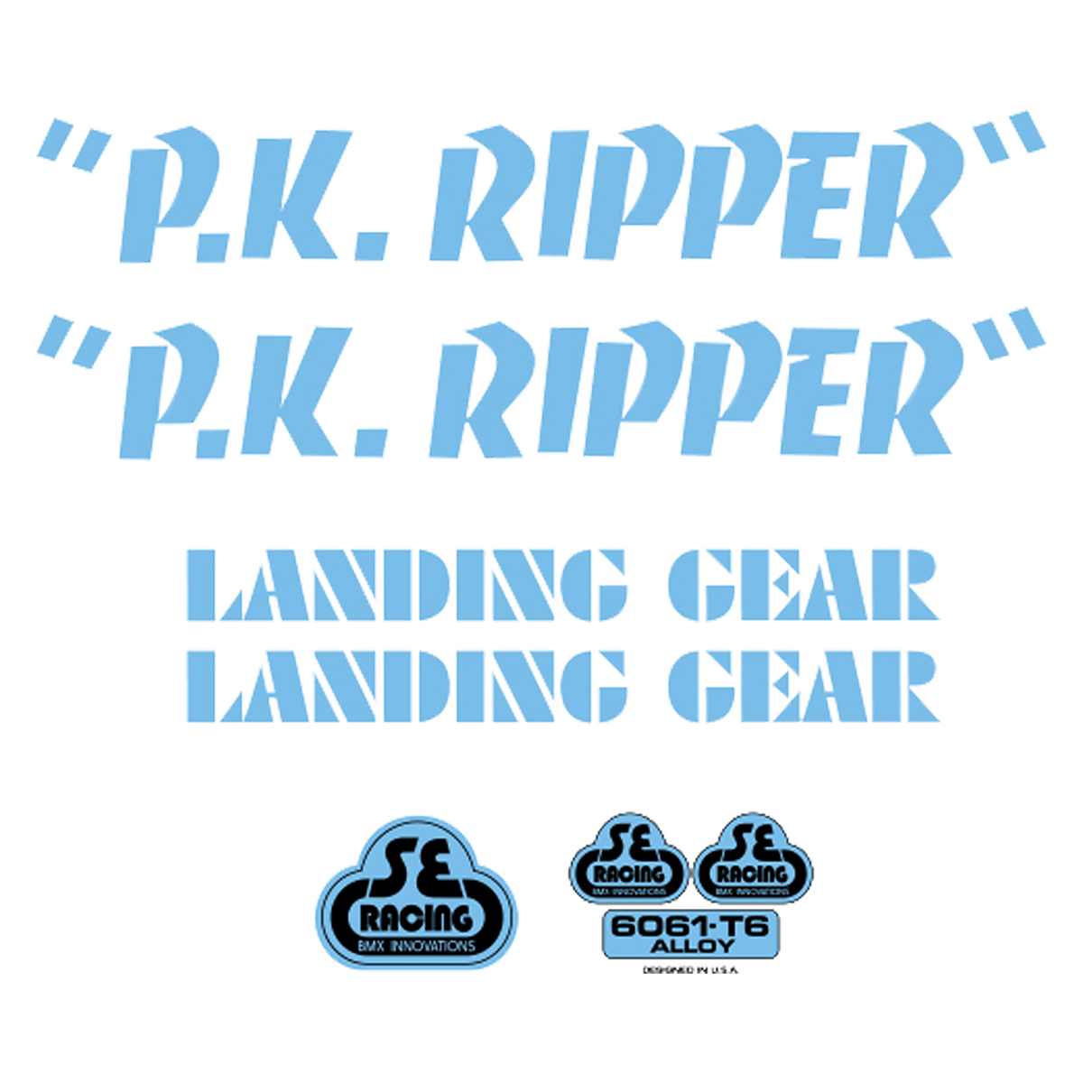 SE Racing PK Ripper Sticker Kit